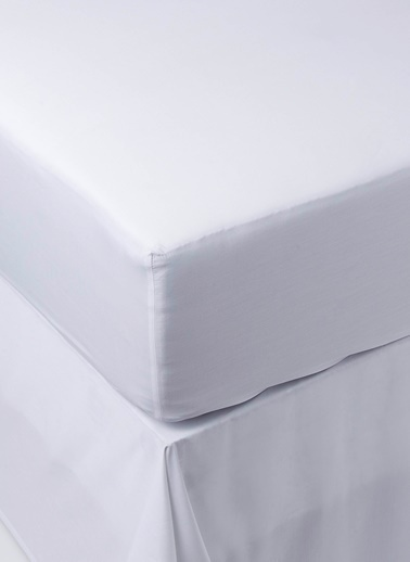 Chakra Classıc Unı Lastıklı Çarşaf Kng Beyaz
